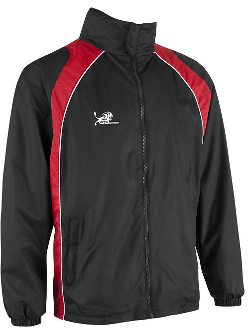 0355 Elite Showerproof Jacket Black/Red