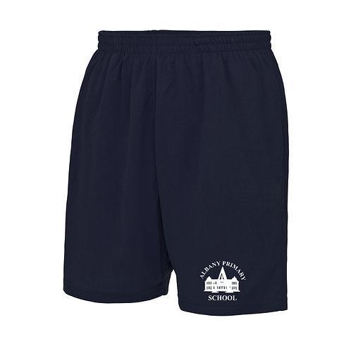 Navy Pro Sports short