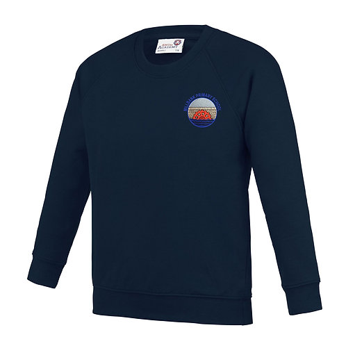 School Round Neck Sweater