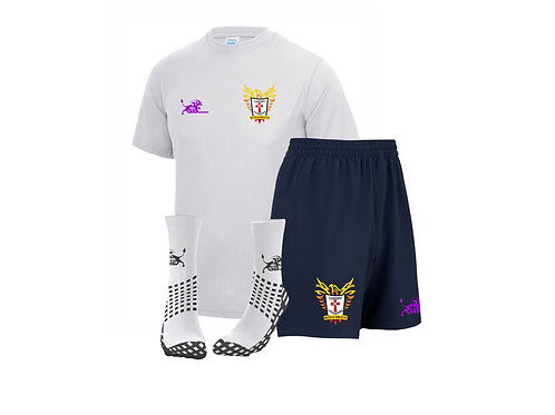 Training Kit Package white tee