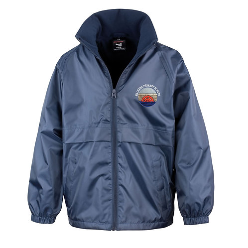 Navy Fleece Lined Jacket