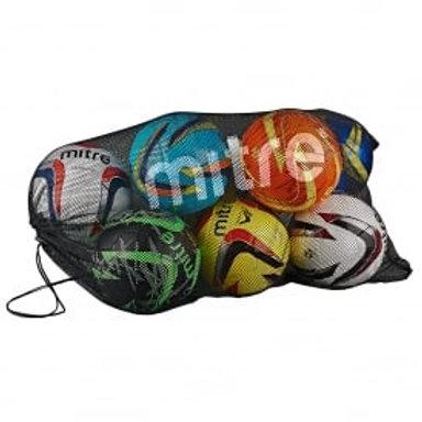 Mitre Mesh Ball Bag (Holds 10 Balls)