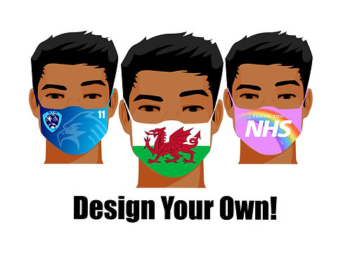Bespoke Design your own face mask