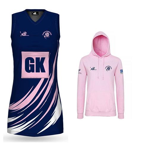Netball Dress & Pink Hoodie Package Deal