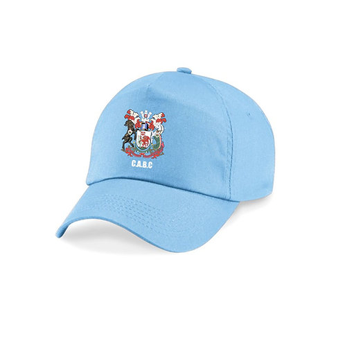 Blue Club Cap with embroidered logo