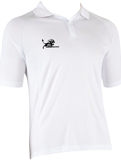 0425 Technical Polo White