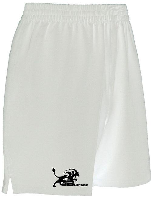 0671 Pro Training Shorts White