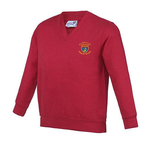 School V Neck Sweater