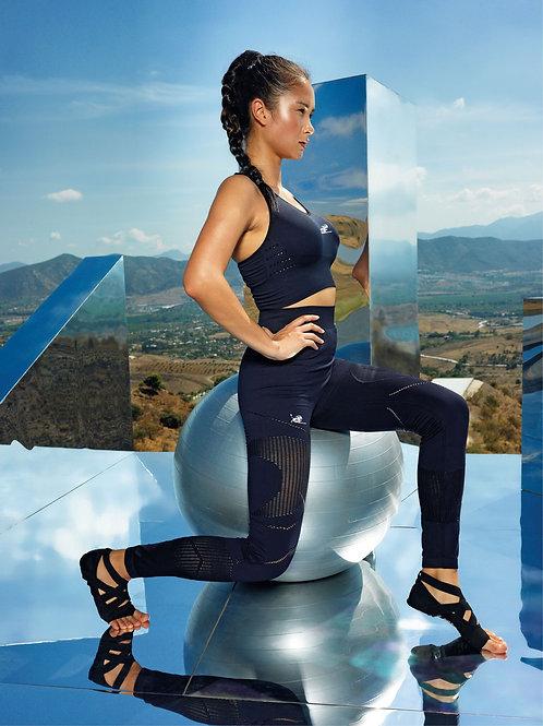 TR207 Women's seamless '3D fit'multi-sport reveal leggings