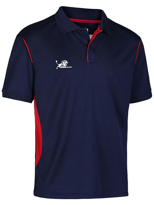 0785 Performance Polo Navy/Red