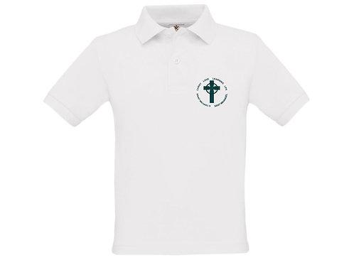 White School Polo