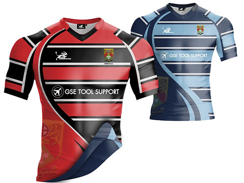 Official Caerau Ely Pro Reversible Rugby Jersey
