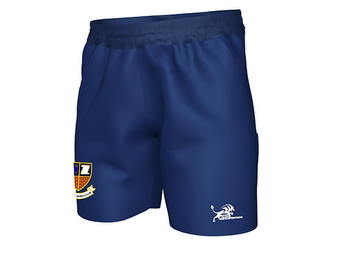 Sublimated Navy Bowls Shorts