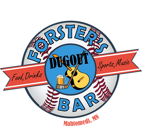 Forsters Dugout Logo eats beats and booze