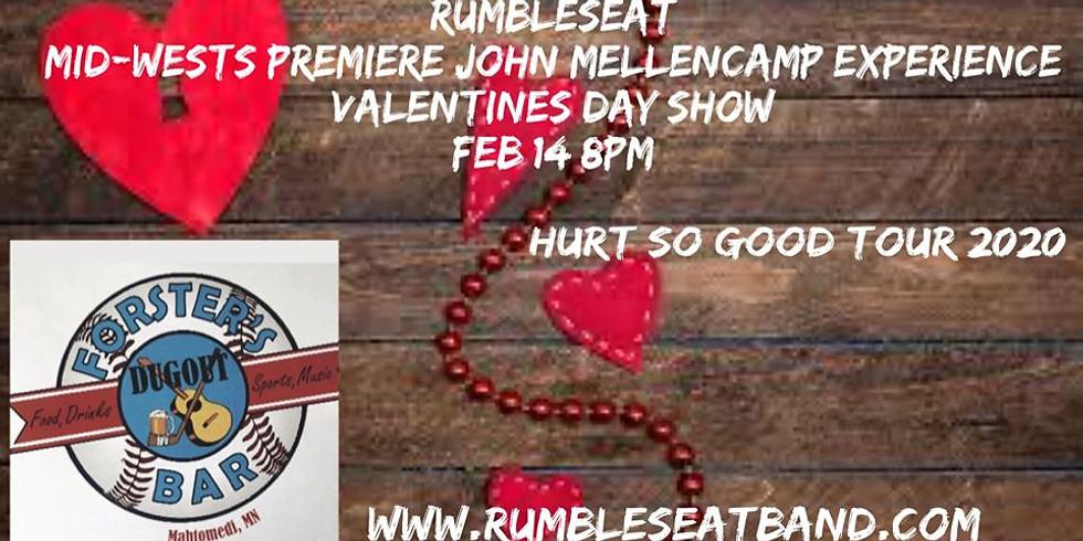 Rumble Seat, Valentines Day John Mellencamp Tribute