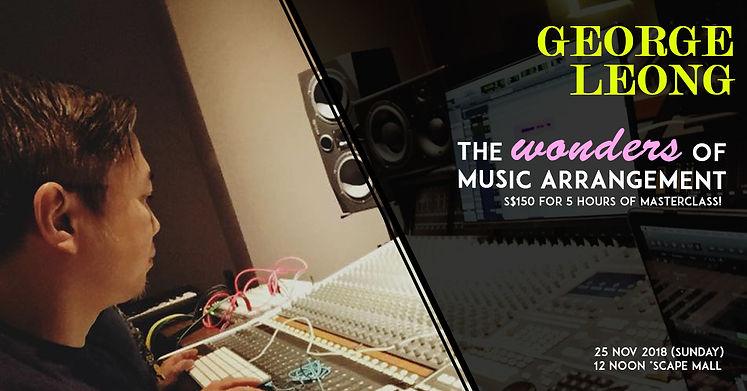 George Leong - Wonders of Music Arrangem