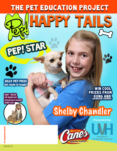 PEP! Happy Tails Issue 2
