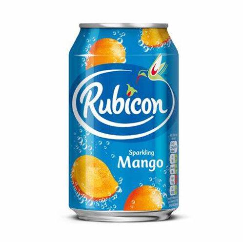 Rubicon Sparkling Mango 330 ml can