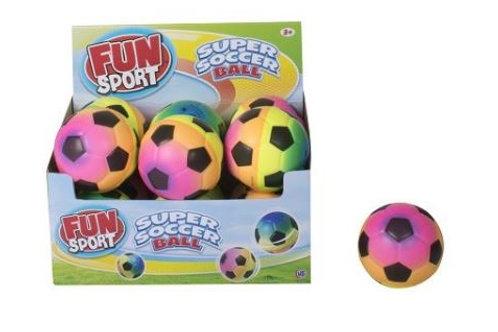 4″ Rainbow Soccer Ball.  Summer Fun.
