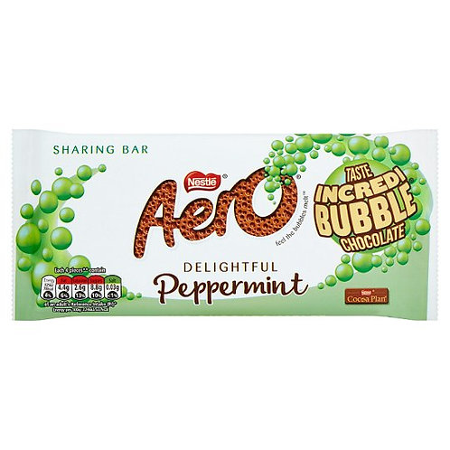 Aero Mint Bubble bar