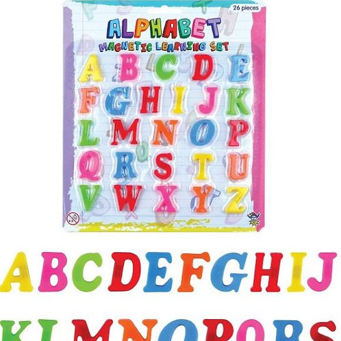 Magnetic Letters Teaching and Learning Kids Alphabet Fridge Magnets