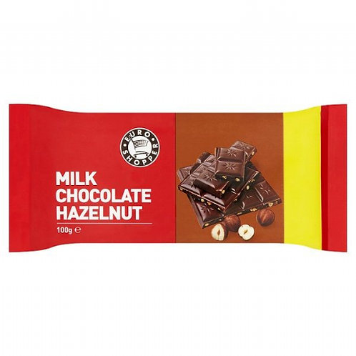 Happy Shopper Hazel nut Milk Chocolate Bar
