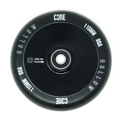 CORE V2 110MM BLACK/BLACK WHEELS