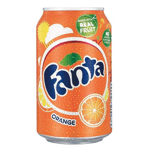 Fanta Orange 330ml can