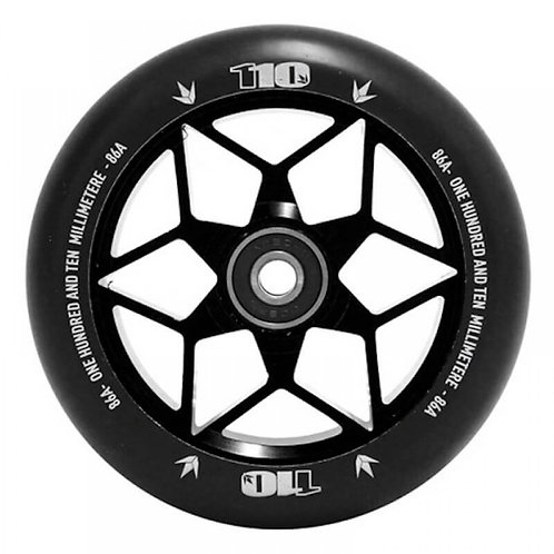 FASEN DIAMOND 110MM WHEEL BLACK