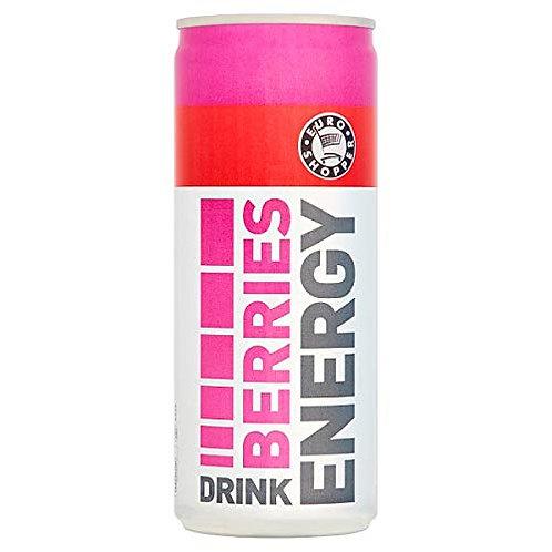 Happy Shopper Energy Drink Berries