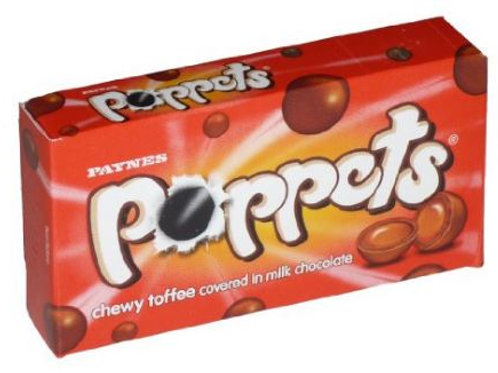 POPPETS- TOFFEE