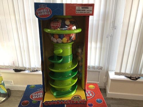 Dubble bubble gum ball dispenser