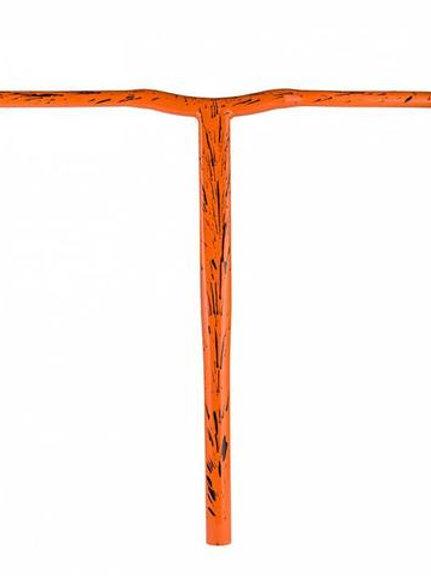 Grit Battle Bars 610mm - Orange/Black Laser