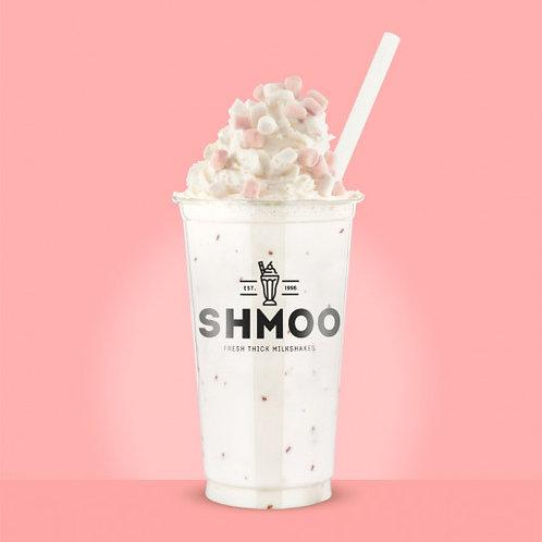 SHMOO RASPBERRY AND WHITE CHOCOLATE MILKSHAKE