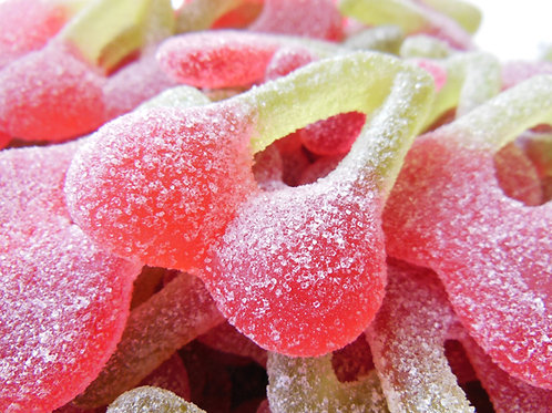 Haribo Fizzy Cherries - Sweet Tub