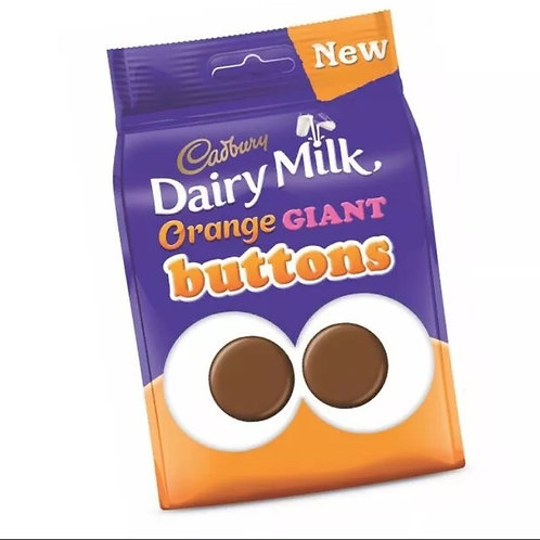 Cadbury's orange buttons limited edition