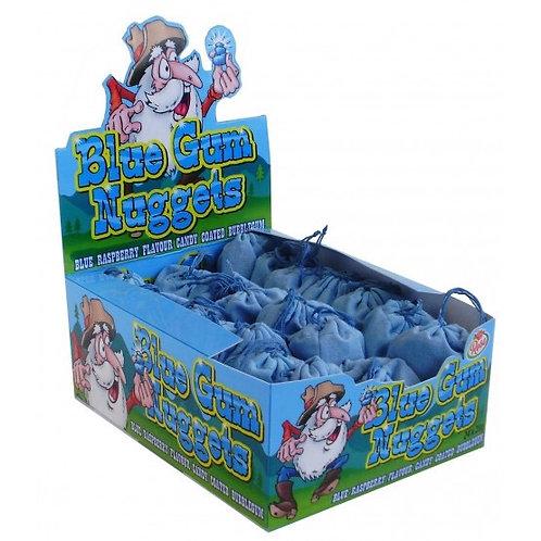 Blue Raspberry Bubblegum Nuggets
