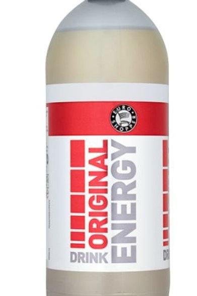 Happy Shopper Energy Drink bottle