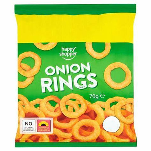 HAPPY SHOPPER ONION RINGS