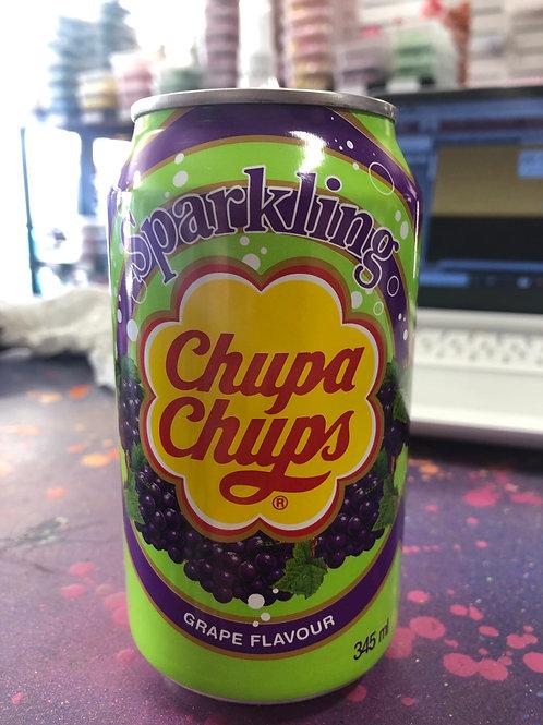 Chupa chups grape drink