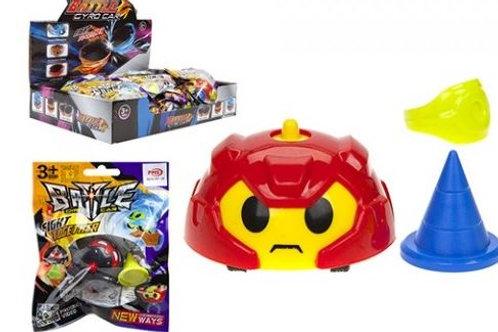 Battle Gyro Car Toy Assorted Designs