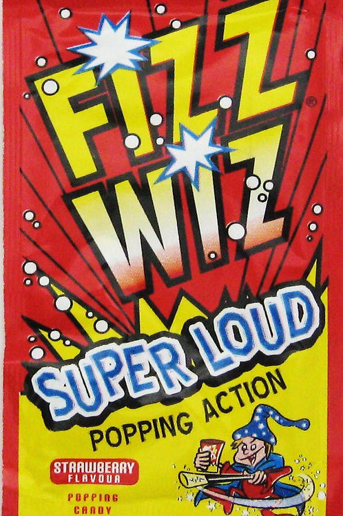 Fizz Wiz popping candy strawberry