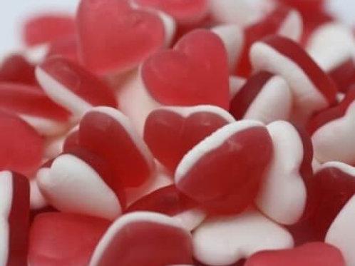 HARIBO STRAWBERRY HEART THROBS