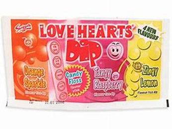 Swizzells Love Heart Dips