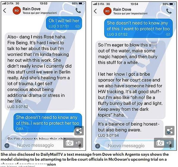 Rain Dove Published Texts.JPG