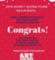 ART/NY 2019 Nancy Quinn Fund Recipients