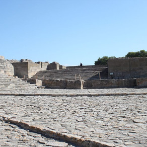 Waarom Phaistos  veel interessanter is dan Knossos.