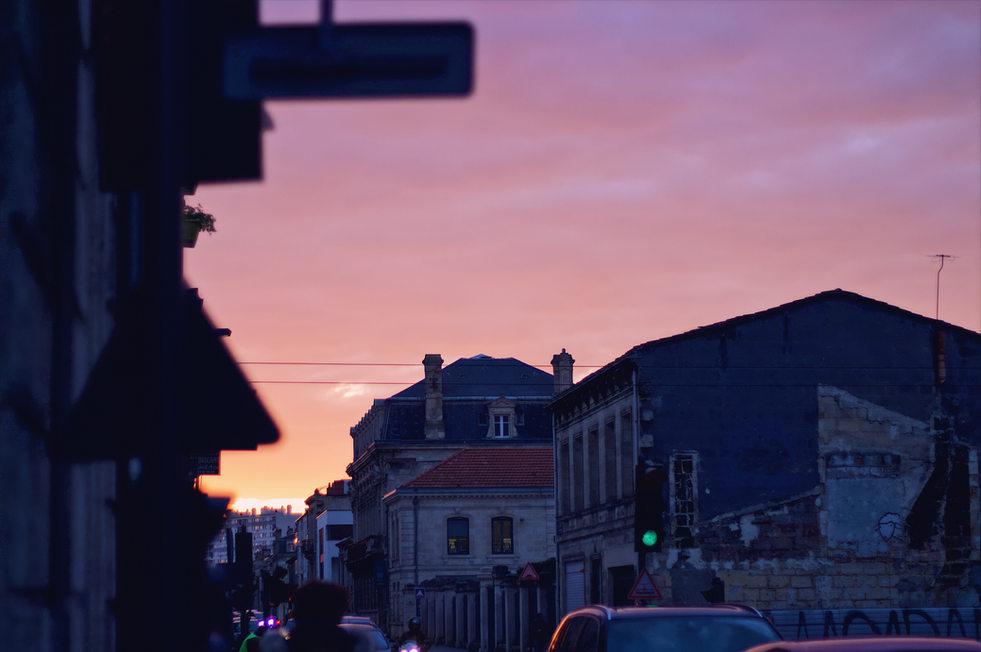 Traffic Jams Sunset