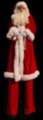 Stelzen Santa Claus gross