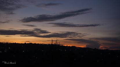 Kampala le soir